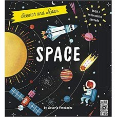 Scratch and Learn Space with 7 interactive spreads