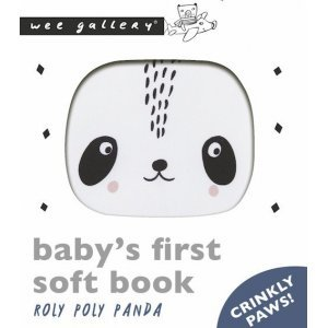 Friendly Faces Soft Book – Roly Poly Panda