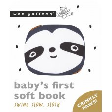 Friendly Faces Soft Book – Swing Slow, Sloth