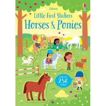 Little-First-Stickers-Horses-and-Ponies-Usborne-Publishing-Kirsteen-Robson