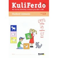Kuliferdo - Sluchové vnímanie-Pracovný zošit na rozvoj školskej zrelosti pre deti v MŠ