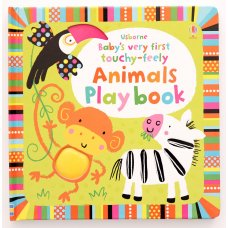 Babys very first touchy-feely Animals playbook