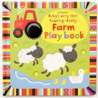 Baby´s Very First Touchy-Feely Farm Play Book (Board Book)